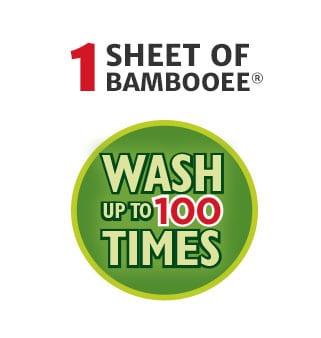 1 sheet of bambooee