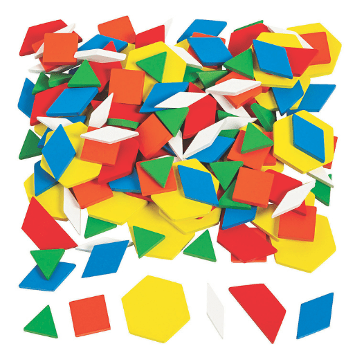 printable pattern blocks and activities