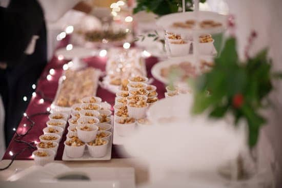 holiday table of appetizers
