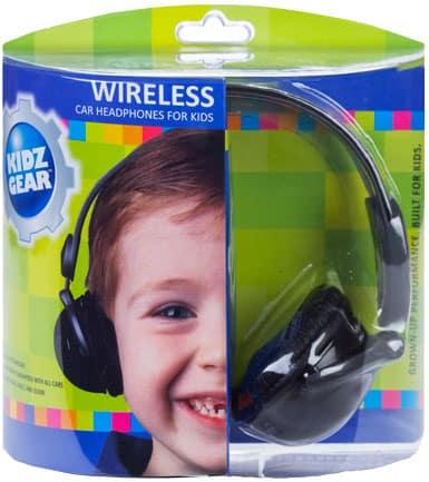 kidzgear wireless car headphones
