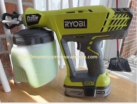ryobi paint sprayer