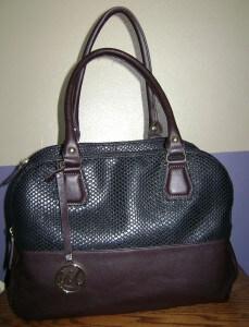 Emilie M Riley 3-compartment purse
