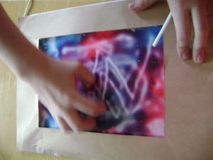 using the magic color writer
