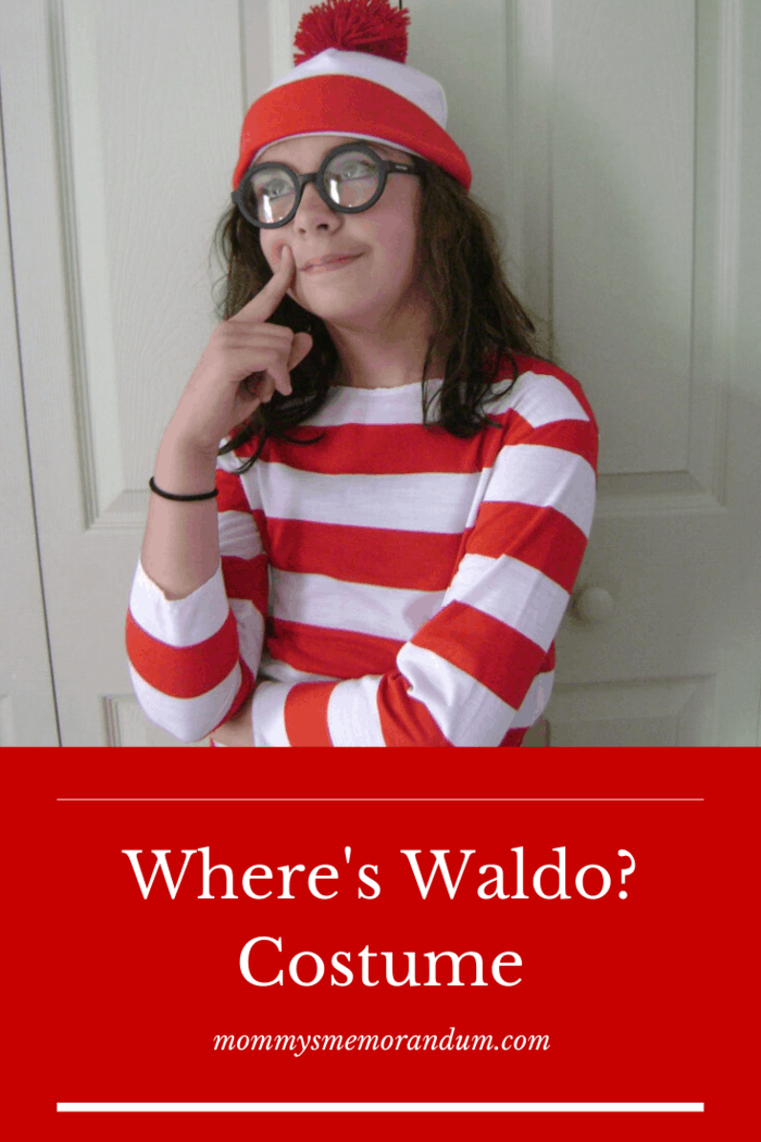 Wenda, Waldo's side-kick Wenda is also available. The kit is available in adult and kid sizes.