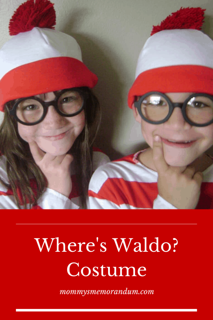 To celebrate we're decking out in the Waldo Costume kit, which includes an official Waldo red and white striped long sleeve shirt, the iconic Waldo glasses, and the trademark red and white beanie!