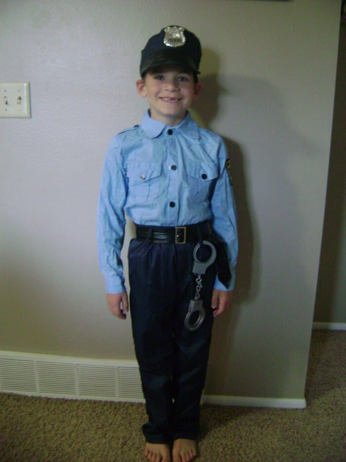 Party City Costumes Party City Exclusive Police Officer Costume