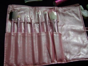 real brushes in every kit