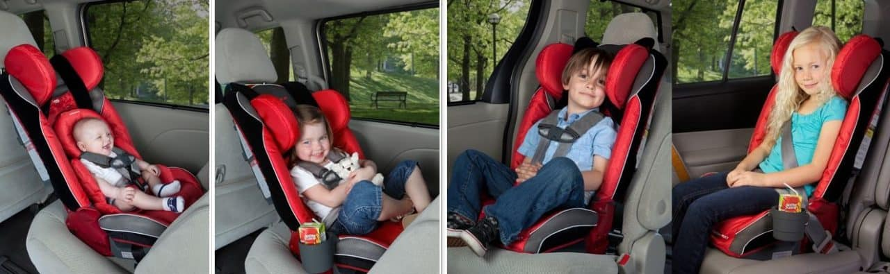 diono car seat for every stage of a child