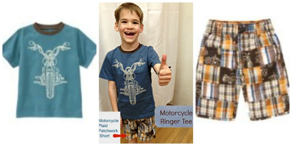 Gymboree Motorcycle Collage