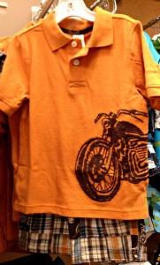 Motorcycle Pique Polo Shirt