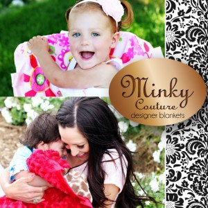 New Logo 300x300 Minky Couture Infant Blanket ends 4/13