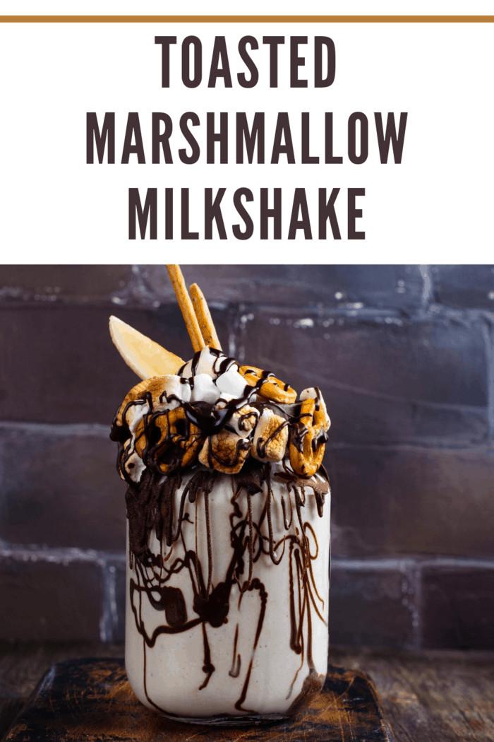 campfire milkshake, marshmallow milkshake, marshmallow shake, milkshake, s'mores milkshake, shake, stand 4 milkshake, stand 4 toasted marshmallow milkshake, stand 4 toasted marshmallow milkshake copy cat recipe, stand 4 toasted marshmallow milkshake recipe, toasted marshmallow milkshake, toasted marshmallow shake