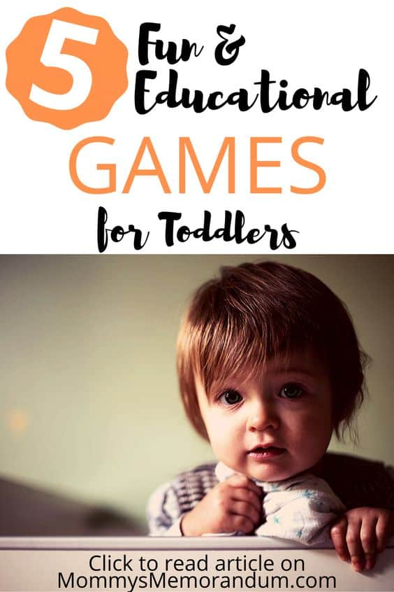 Here are 5 Fun and Educational Games for toddlers that don't cost a fortune and won't require your tots to sit in front of a monitor.