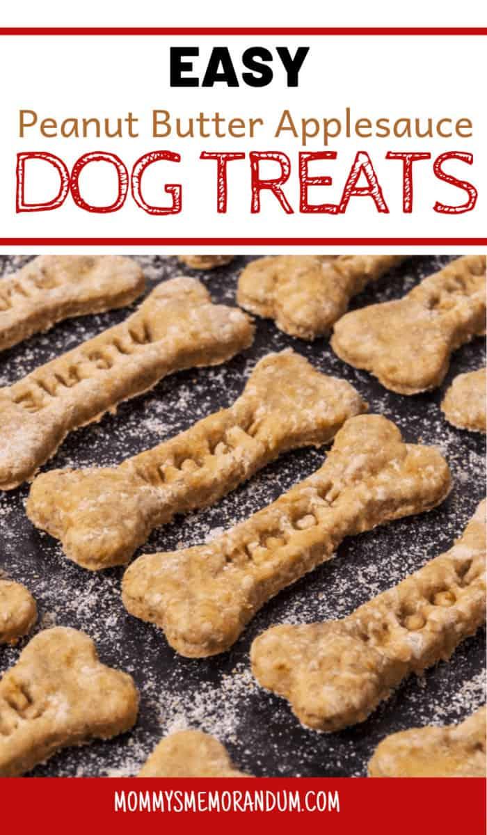 Peanut Butter Applesauce Dog Treats Recipe Your Dog Will Love