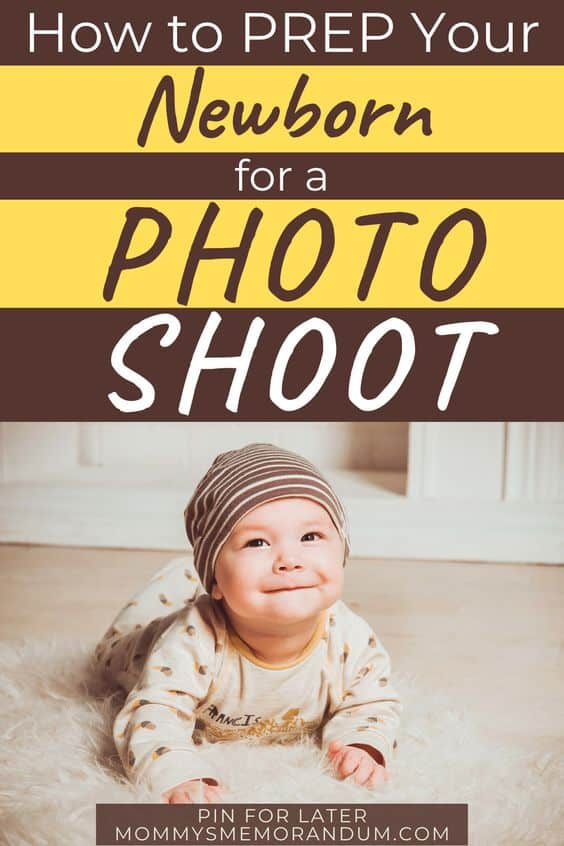 how to prepare a baby for a photo shoot