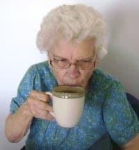 grandma goes gaga