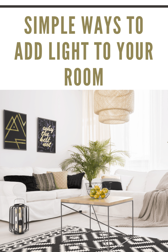 The type of lighting you use in a room can make or break the feel of the room.
