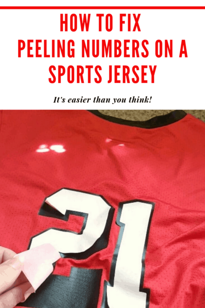 number 21 peeling off red jersey