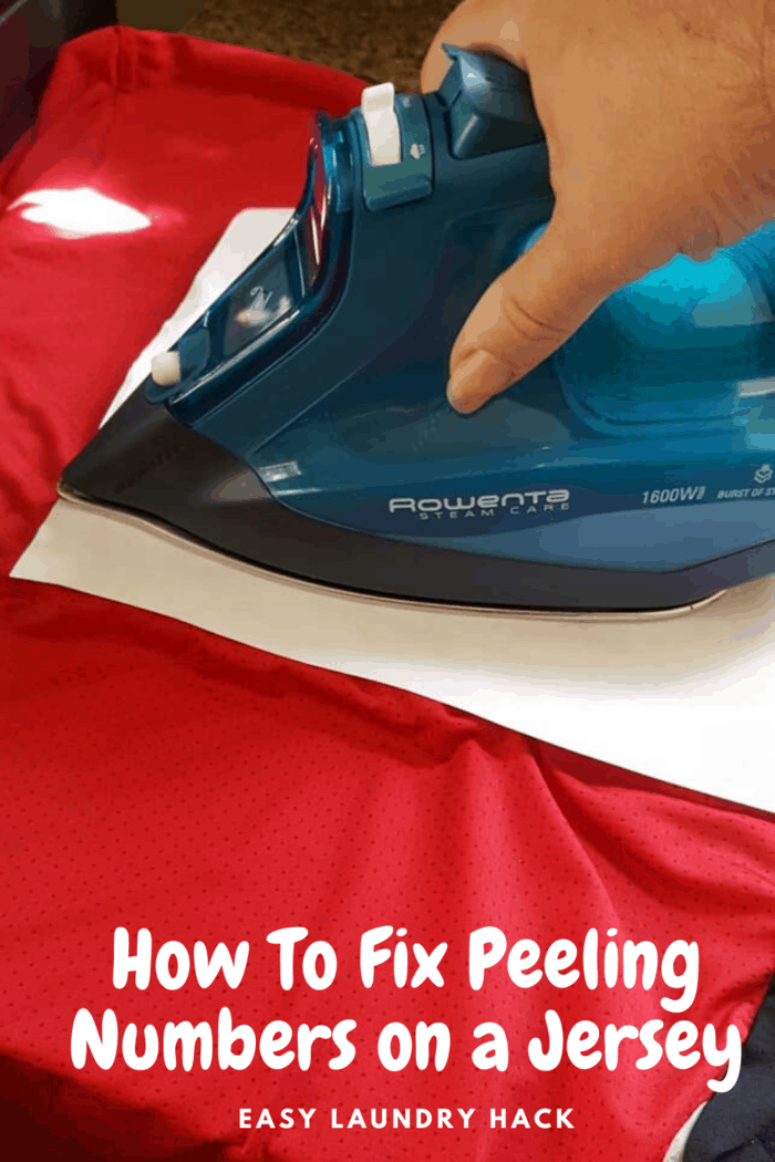 move iron with no steam over paper to heat up vinyl