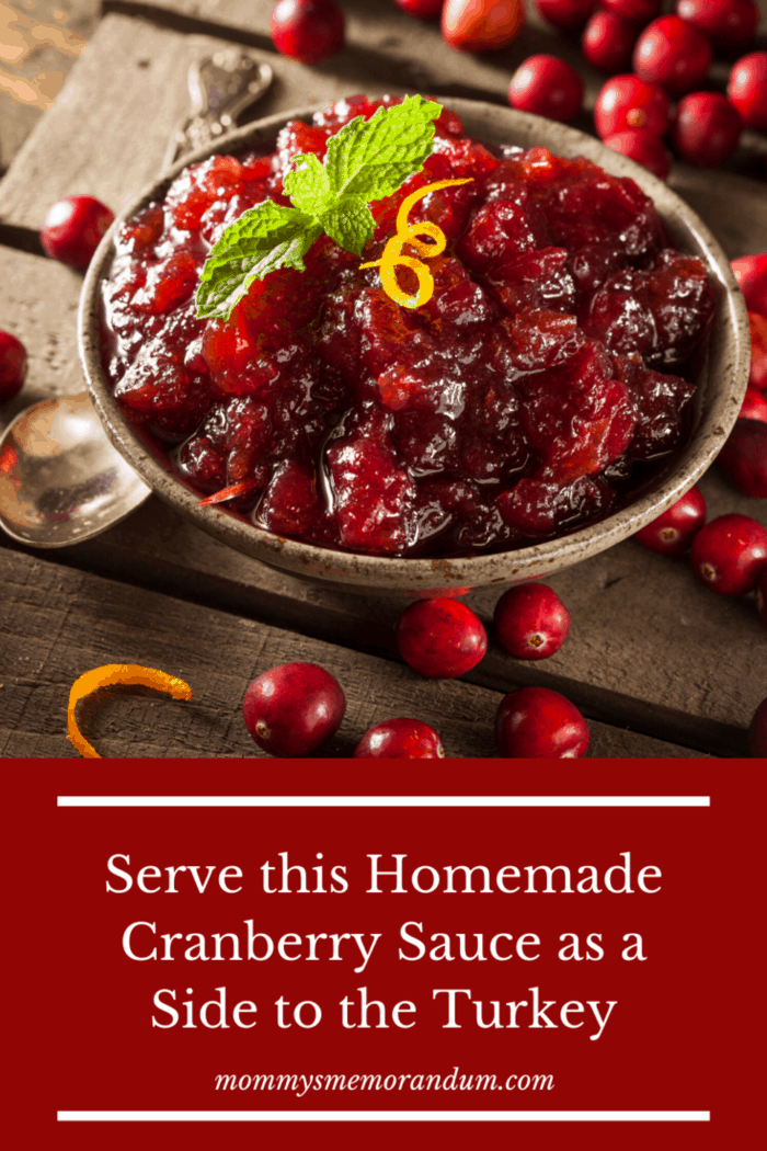 Fresh Cranberry Sauce (Makes 3 cups)