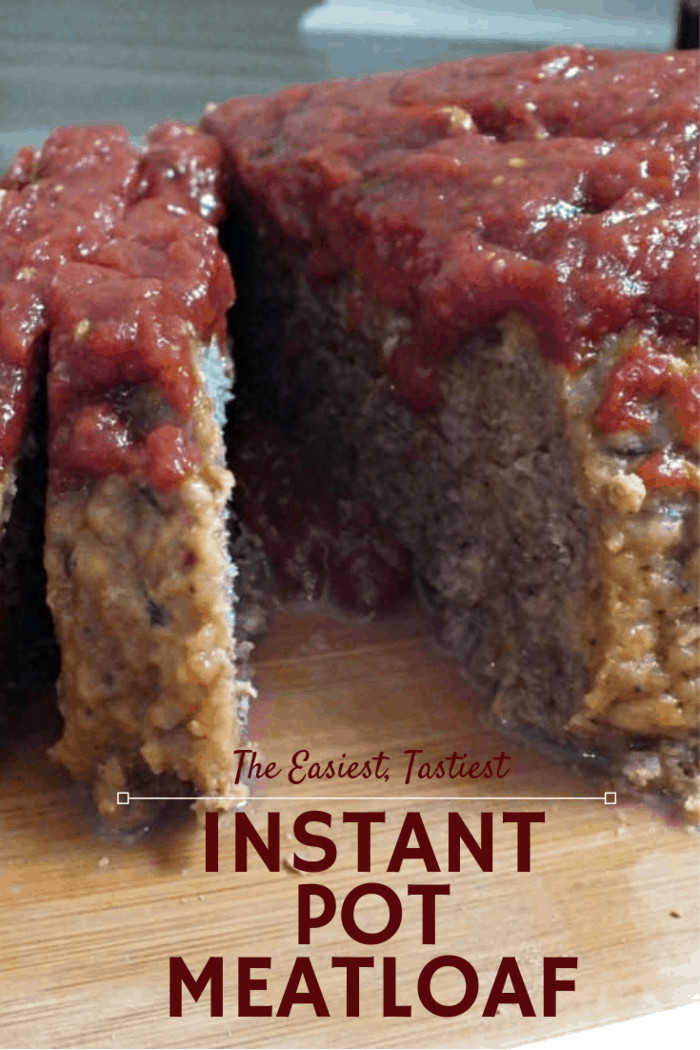 This really is The Best Instant Pot Meatloaf. It's an all-in-one meal cooked right in your electric pressure cooker! You can serve potatoes on the side as mashed or whole for the comfort food combination that makes this pressure cooker meatloaf everyone's favorite meal.
