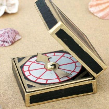 pirate compass craft