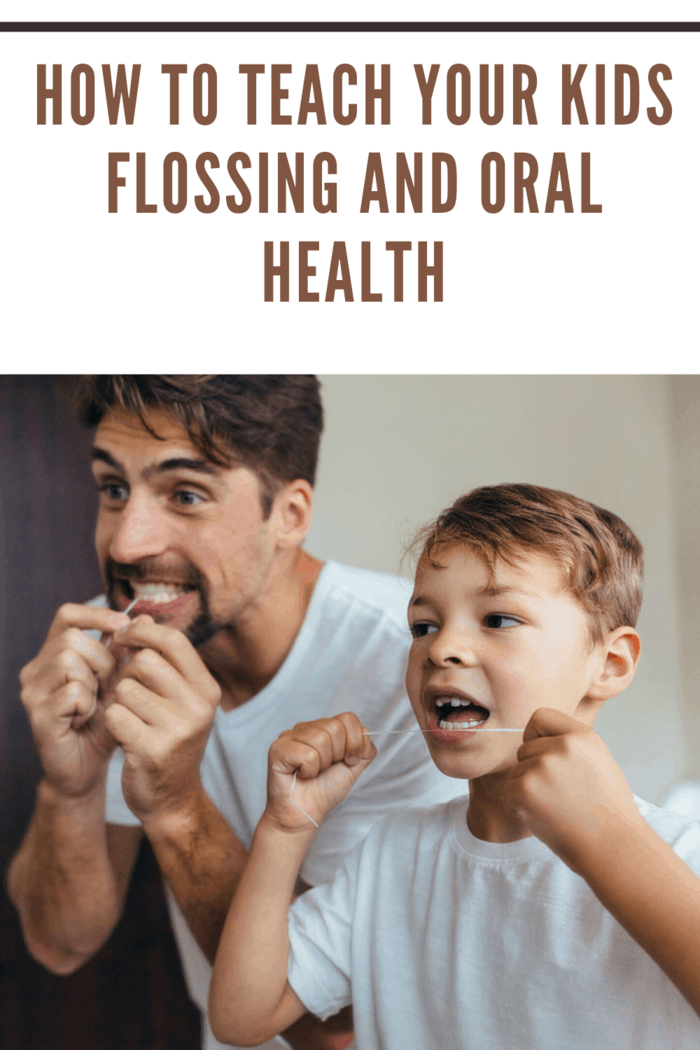 dad show how to floss