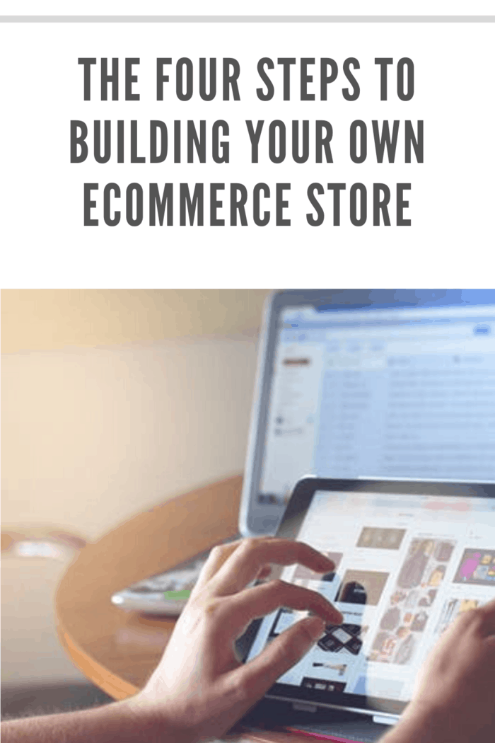 hand zooming in on product in an ecommerce store