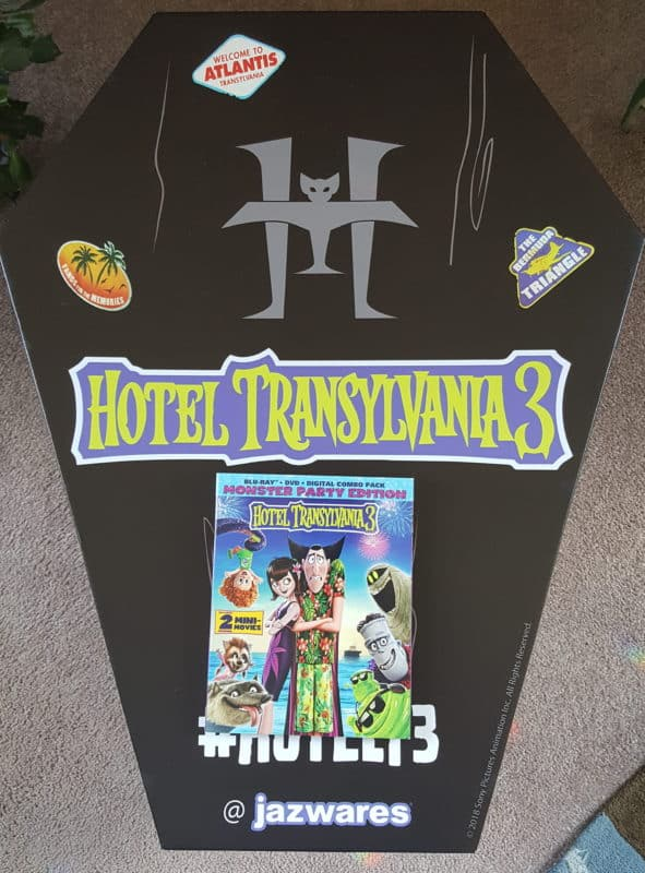 hotel transylvania 3 coffin shaped box