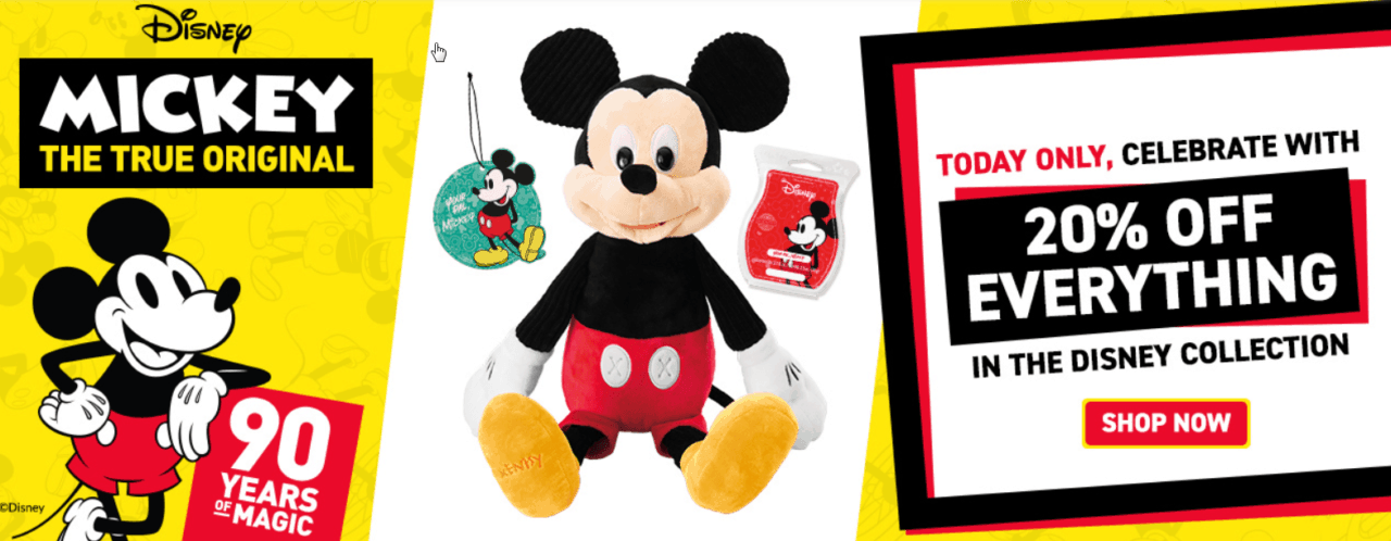 scentsy disney collection merry monday