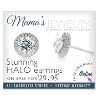 mama's jewelry earrings dancing diamonds
