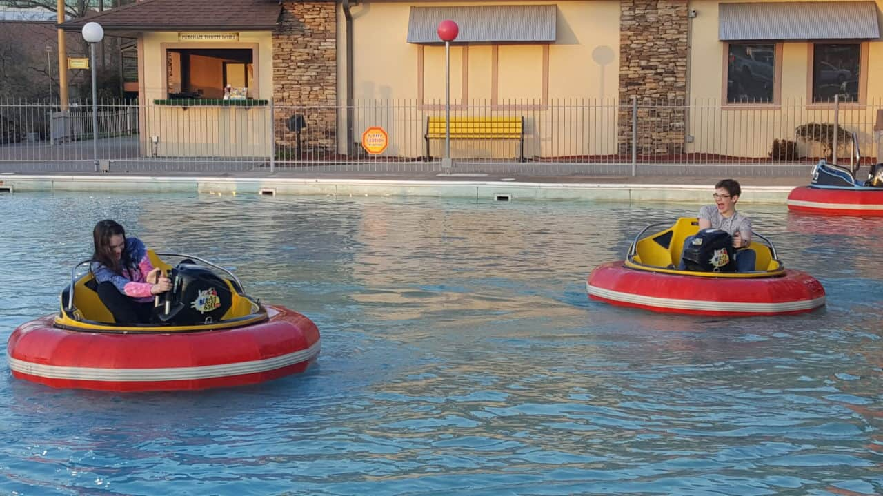 blaster boats at the track pigeon forge