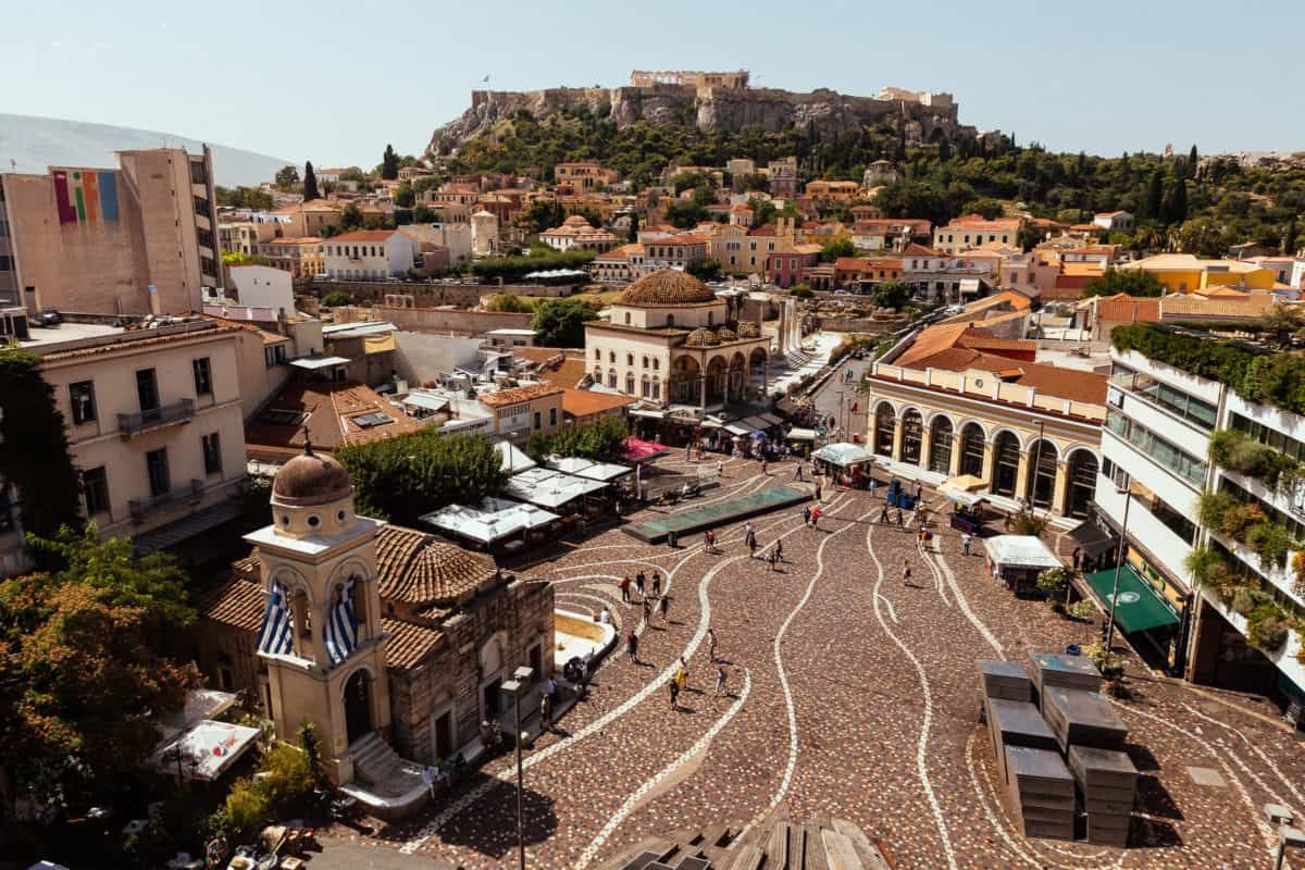Monastiraki-things to do in athens