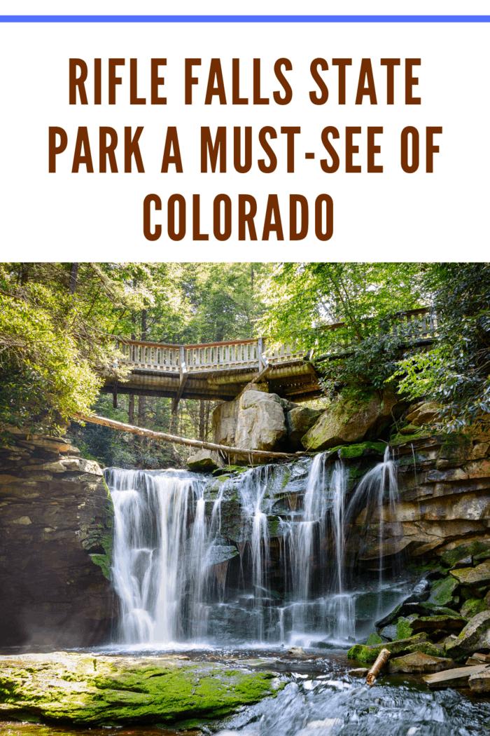 Rifle Falls State Park Colorado