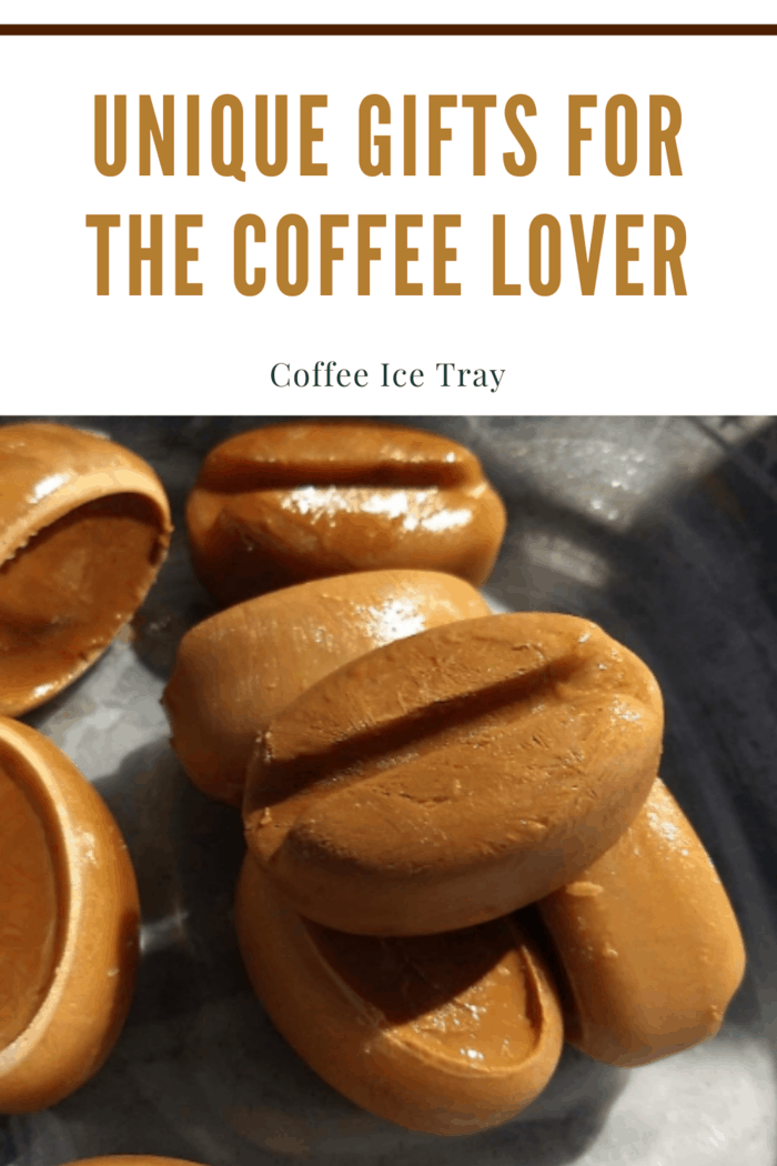 For those into their iced coffee, you must purchase a coffee ice tray that allows your loved one to make ice cubes from the coffee while also preventing the risk of them watering down their drink.