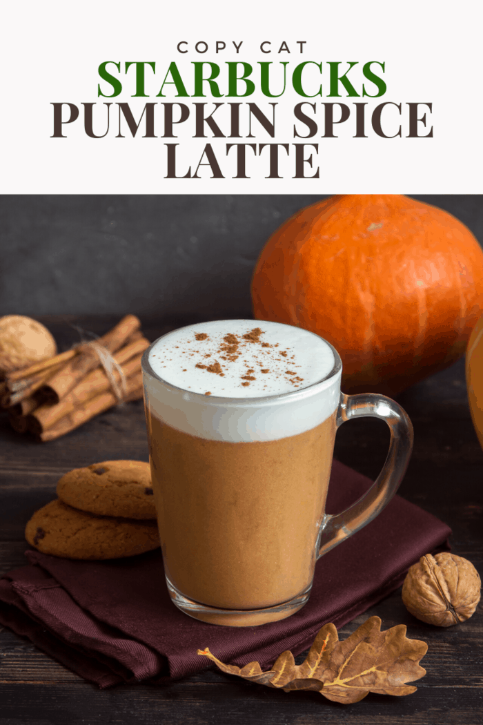 For something more traditional, you should opt for the pumpkin spice latte which has been in production since 2003. This easy copycat Starbucks recipe is just as good as the real thing, with ingredients available at your nearest grocer.