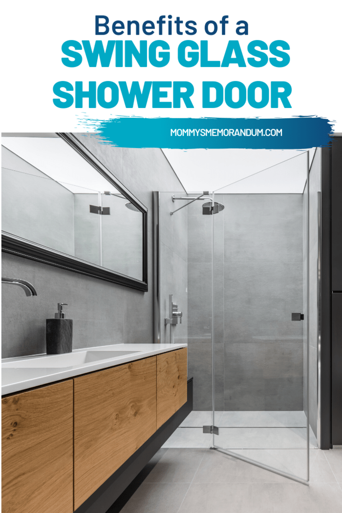 With a swing door for your shower entrance, you need not worry about door tracks any longer. Door tracks are the most dangerous and a place for dirt to gather. But with a swing door in place, you can remove dirty shower door tracks from your cleaning routine.