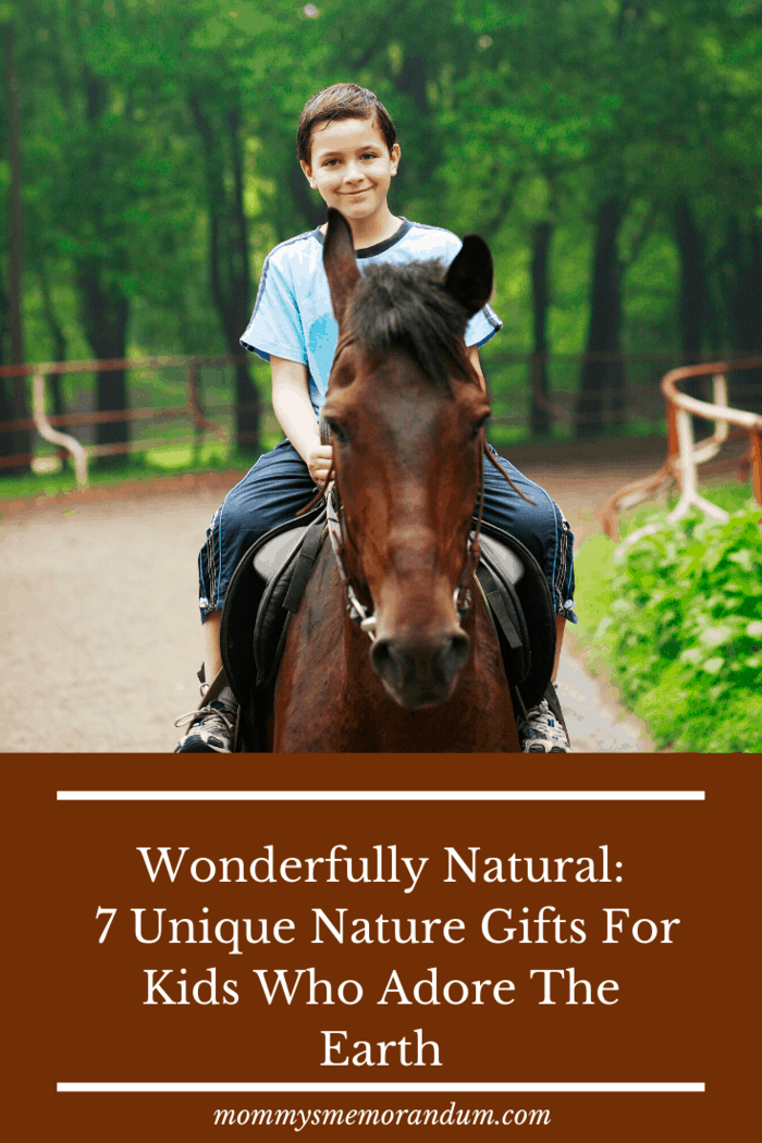 Horseback riding checks so many boxes when it comes to making outdoorsy kids happy.