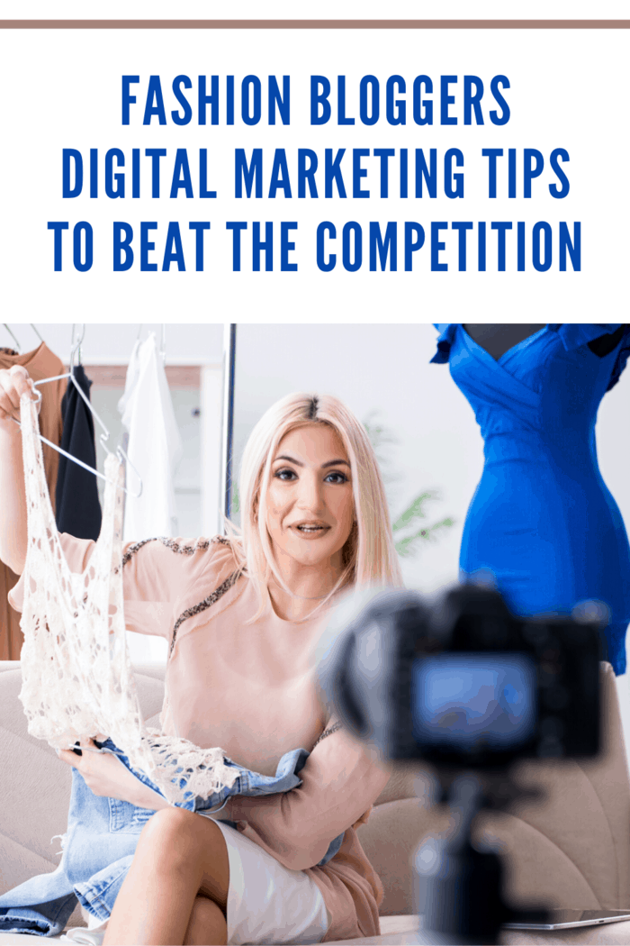 fashion blogger digitial marketing photo shoot