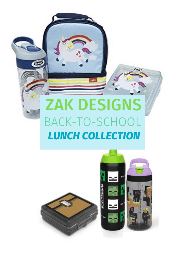 Our Zak Designs back to school collection review includes the Happy Things Blue Unicorn and pieces from the Minecraft collection.