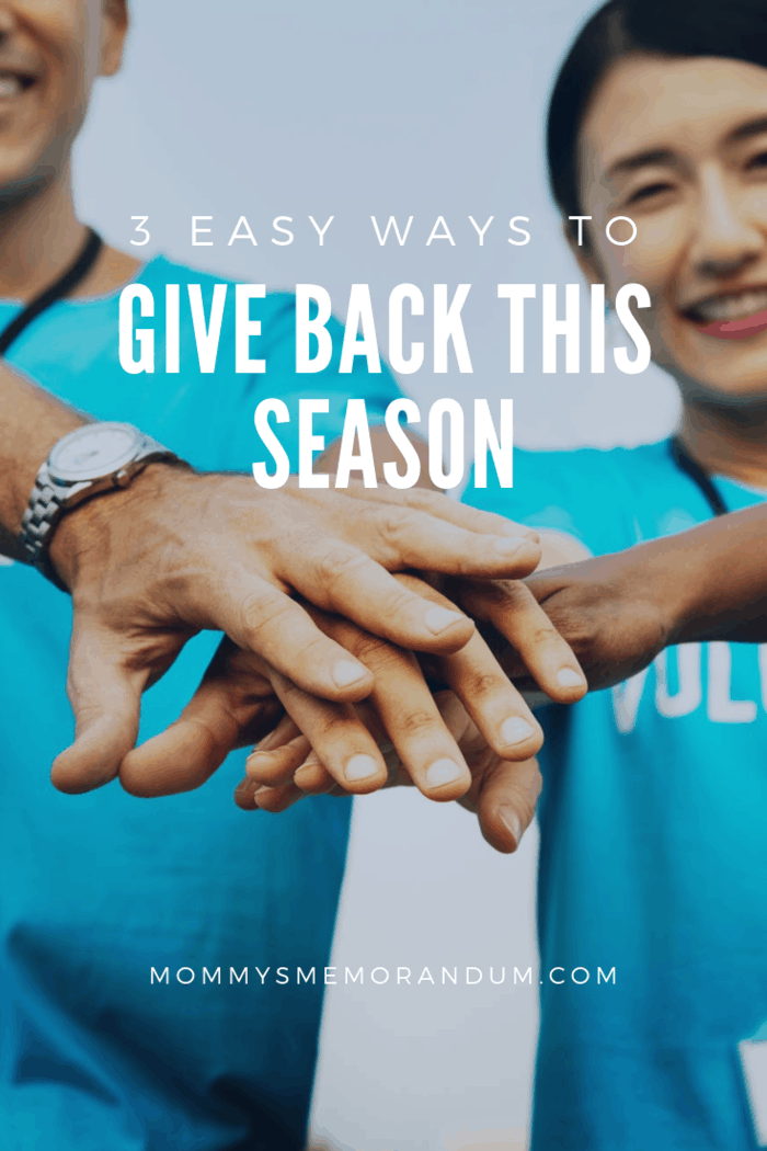 Whether you're passionate about animals, the environment, or just want to help those less fortunate, there are tons of easy ways to give back this season.