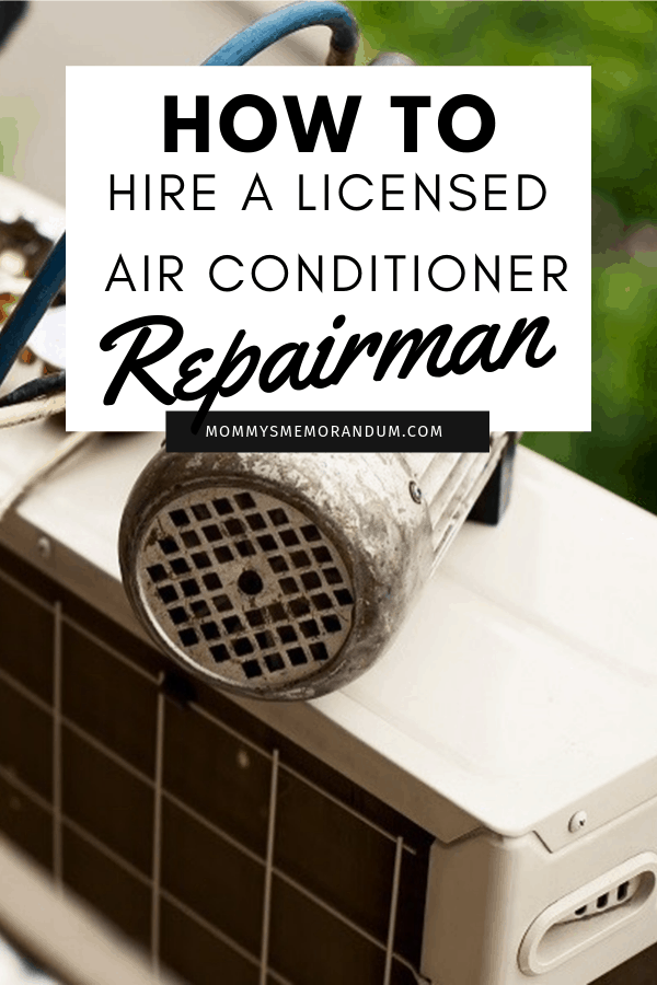 Temperatures are soaring and your ac just went kaput, here's how to hire a licensed air conditioning repair contractor to get it back up and cooling.