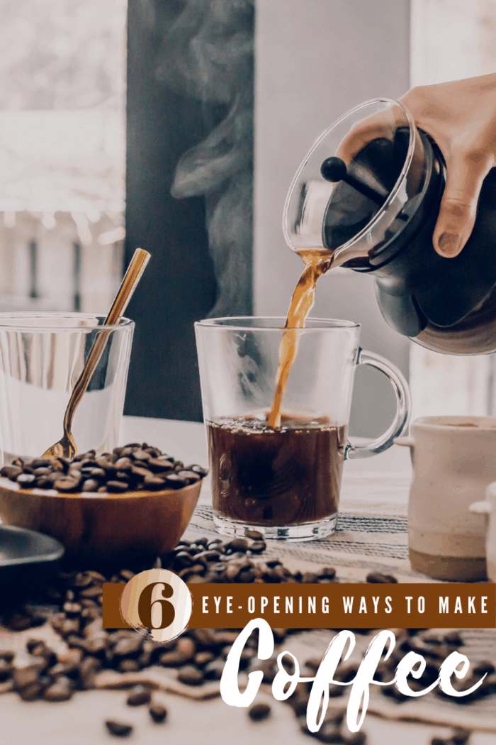 If you love your daily cup of coffee but are pining for a little something extra, check out these coffee brewing methods and add a little pep to your morning.