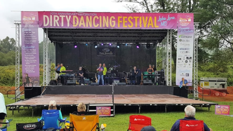 The Dirty Dancing Festival Music and Dance Stage