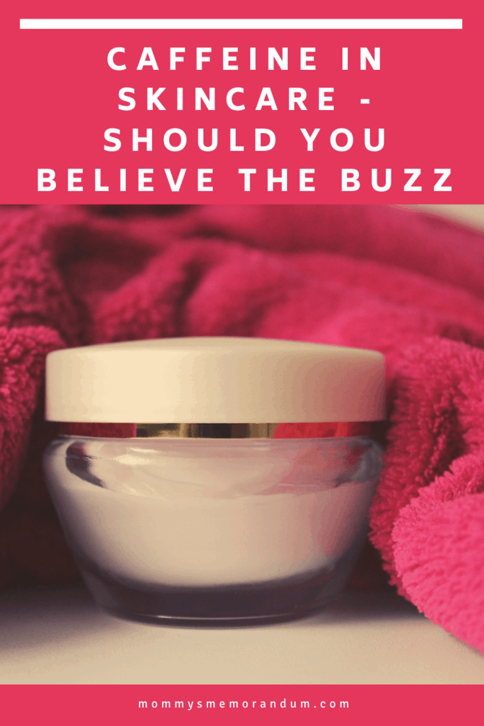Caffeine In Skincare - Should You Believe The Buzz? We discuss what we've learned so you can make the best decision for your beauty routine.