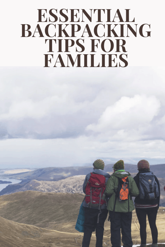 You need to keep a couple of backpacking tips for families in mind so that you are able to enjoy the experience to the max and enjoy the views.