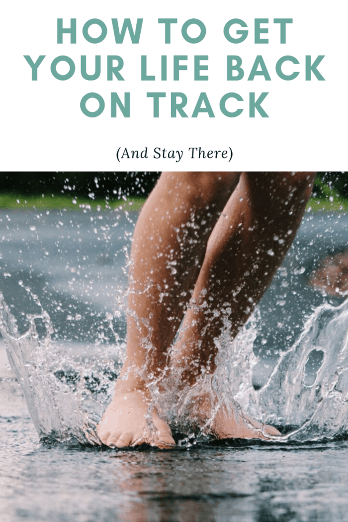 Are you feeling unmoored, unmotivated, and unhappy? It's time to learn how to get your life back on track (and stay there) with these tips.