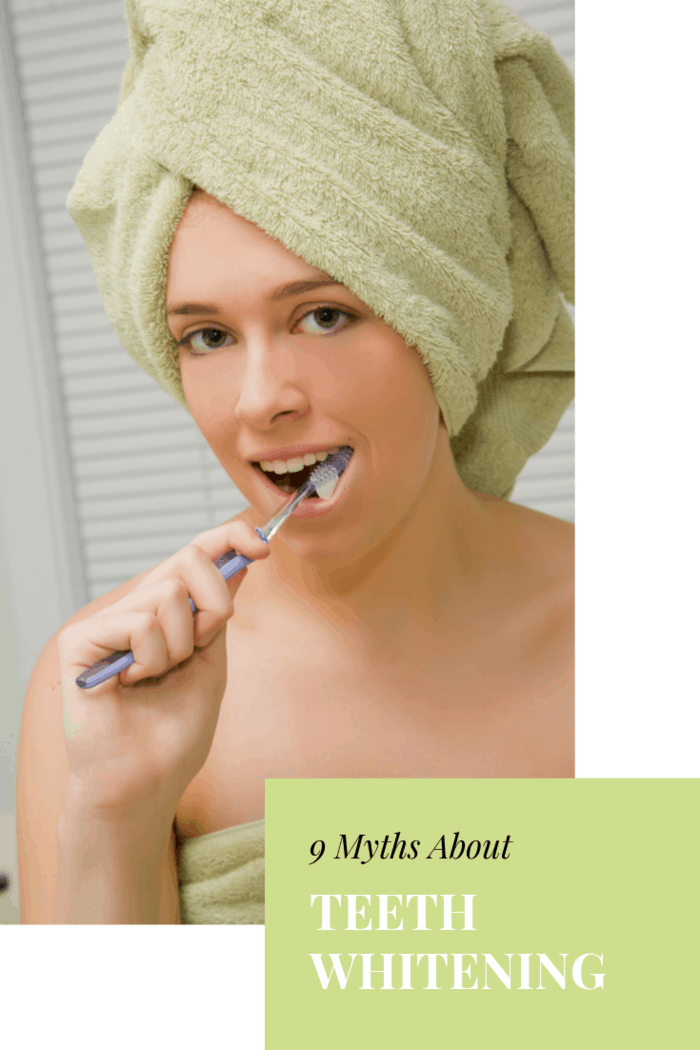There are some whitening kinds of toothpaste that have an ingredient called blue covarine, which can make the teeth look bright. But, this is a short-term change, and do not be confused by it.