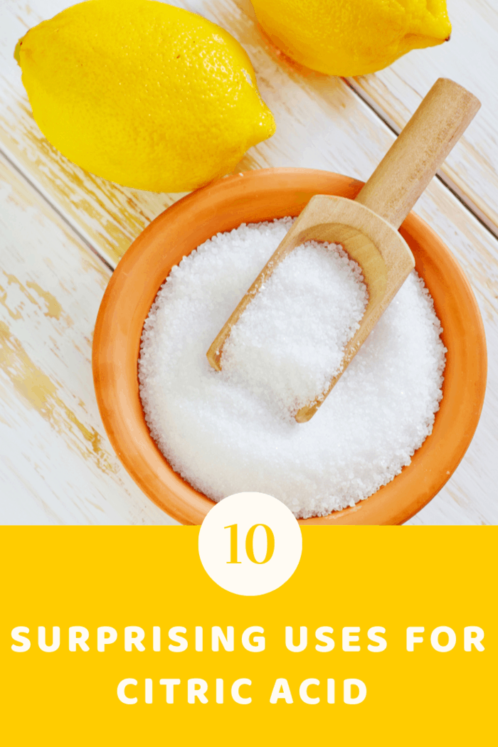 discover the uses for citric acid and why this powerful cleaner deserves a spot on in your cleaning caddy.