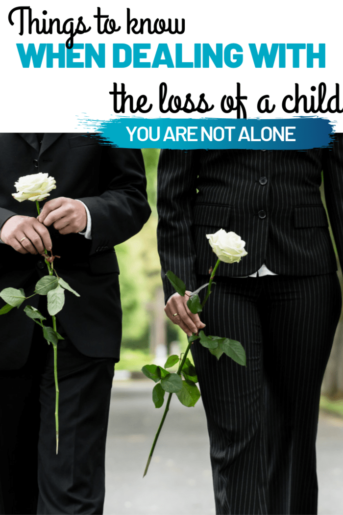 There are things that grieving parents can do to move forward and to work through their emotions and the coping with the loss of a child.